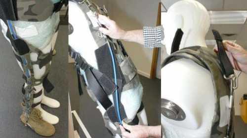 экзоскелет позволит детям с параличом снова ходить